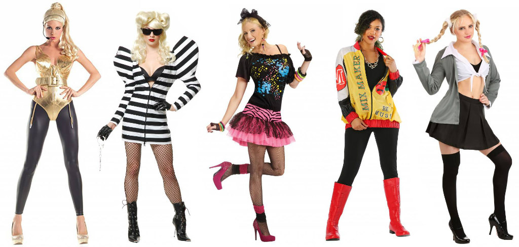 Pop Star group of 5 costumes