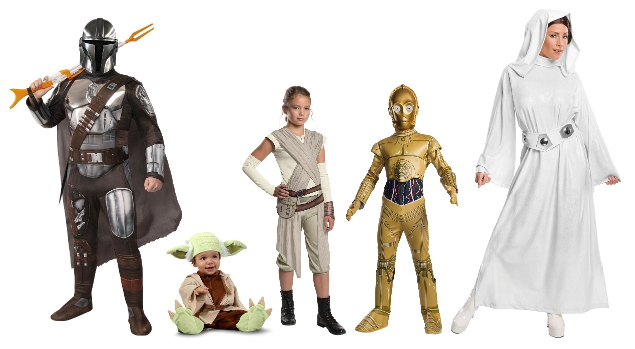 Group Star Wars Costumes