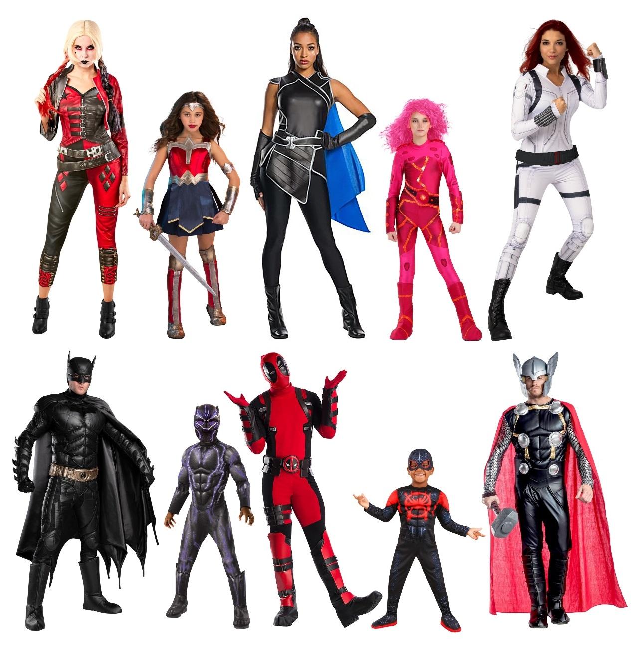 Superhero Group Costumes