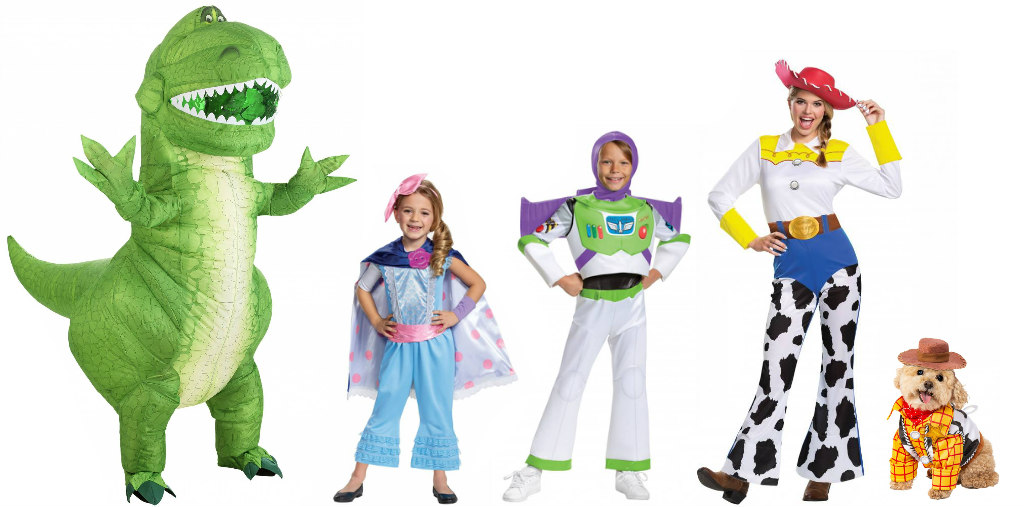 Family Toy Story Costumes