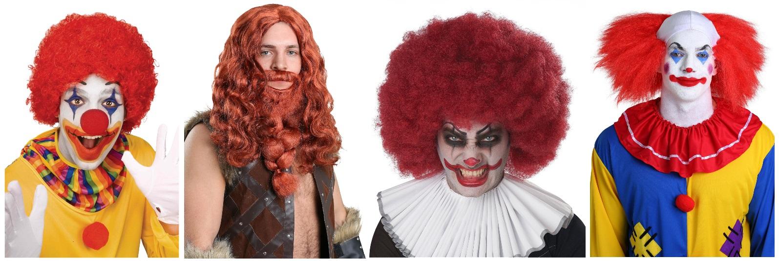 Men's Red Wigs