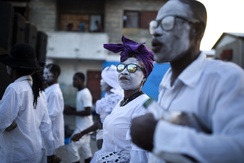 Haitians Fete Gede