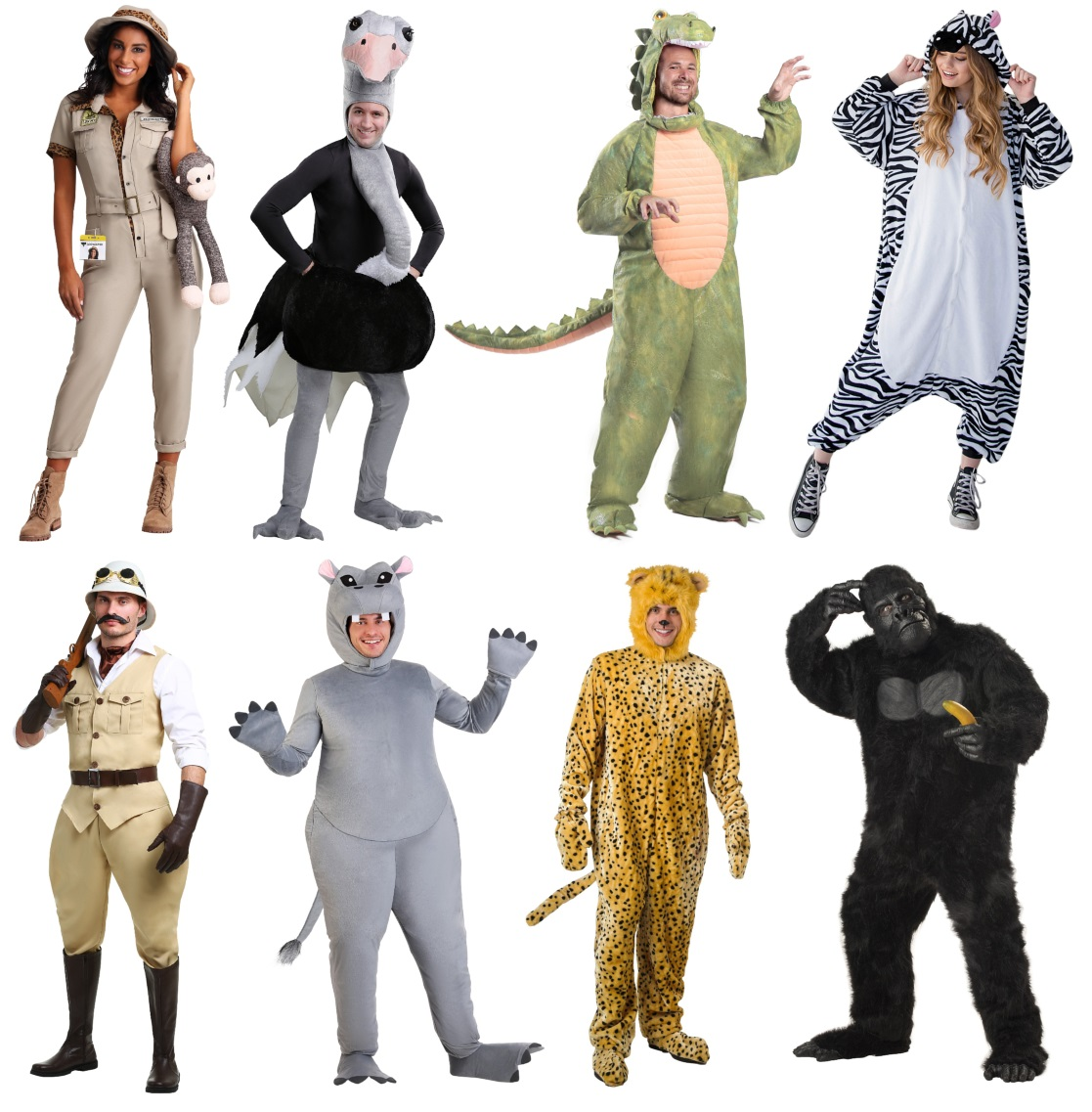 Adult Safari Costumes for Wild Party Animals
