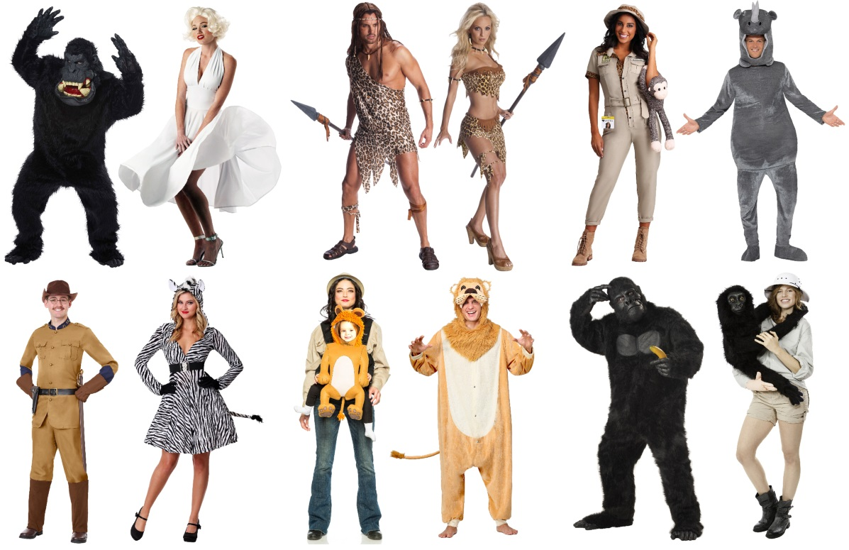 Safari-Themed Couples Costume Ideas