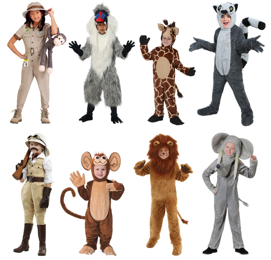 Adorable Safari Costumes for Kids
