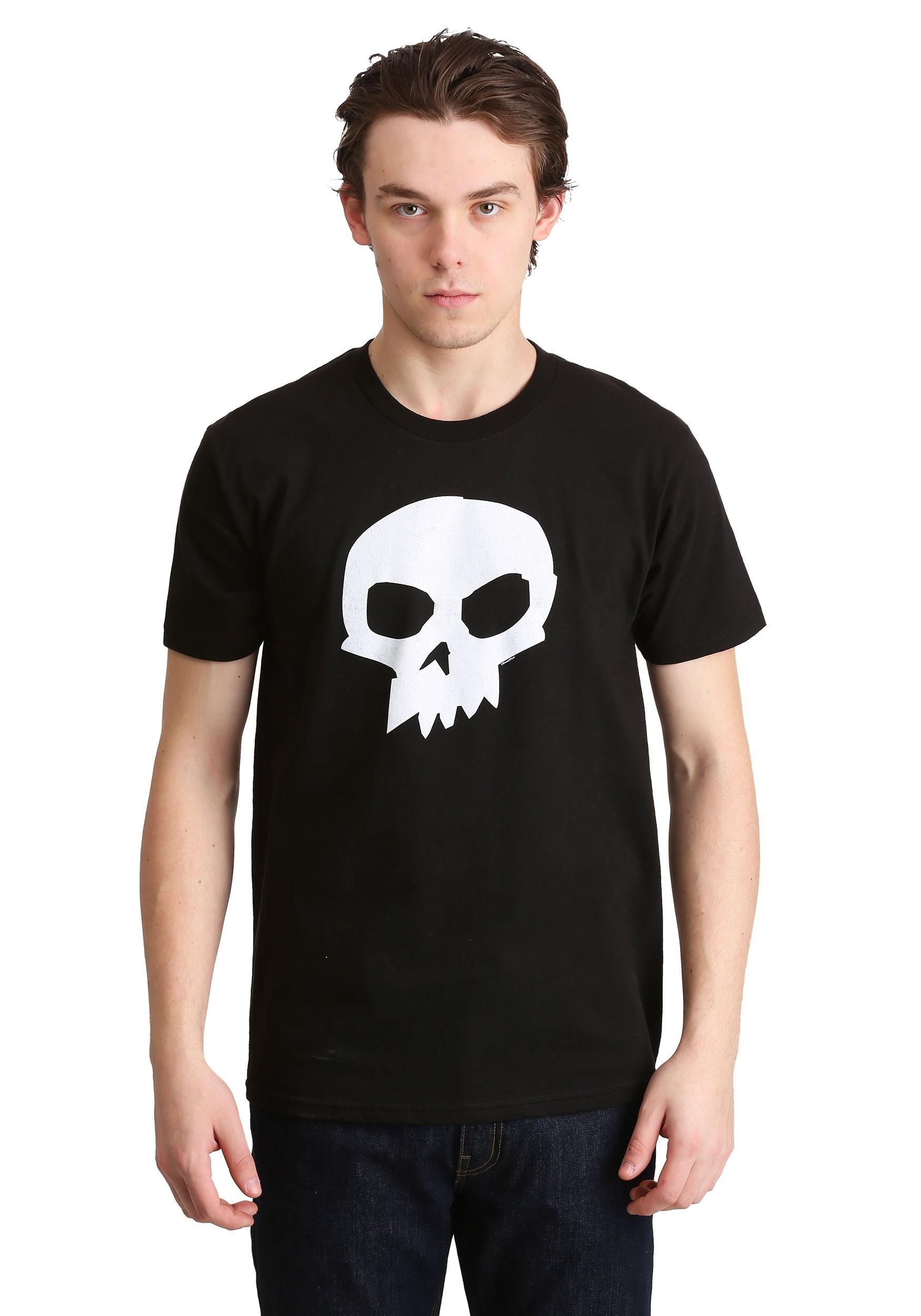 Toy Story Sid Black Skull Tshirt