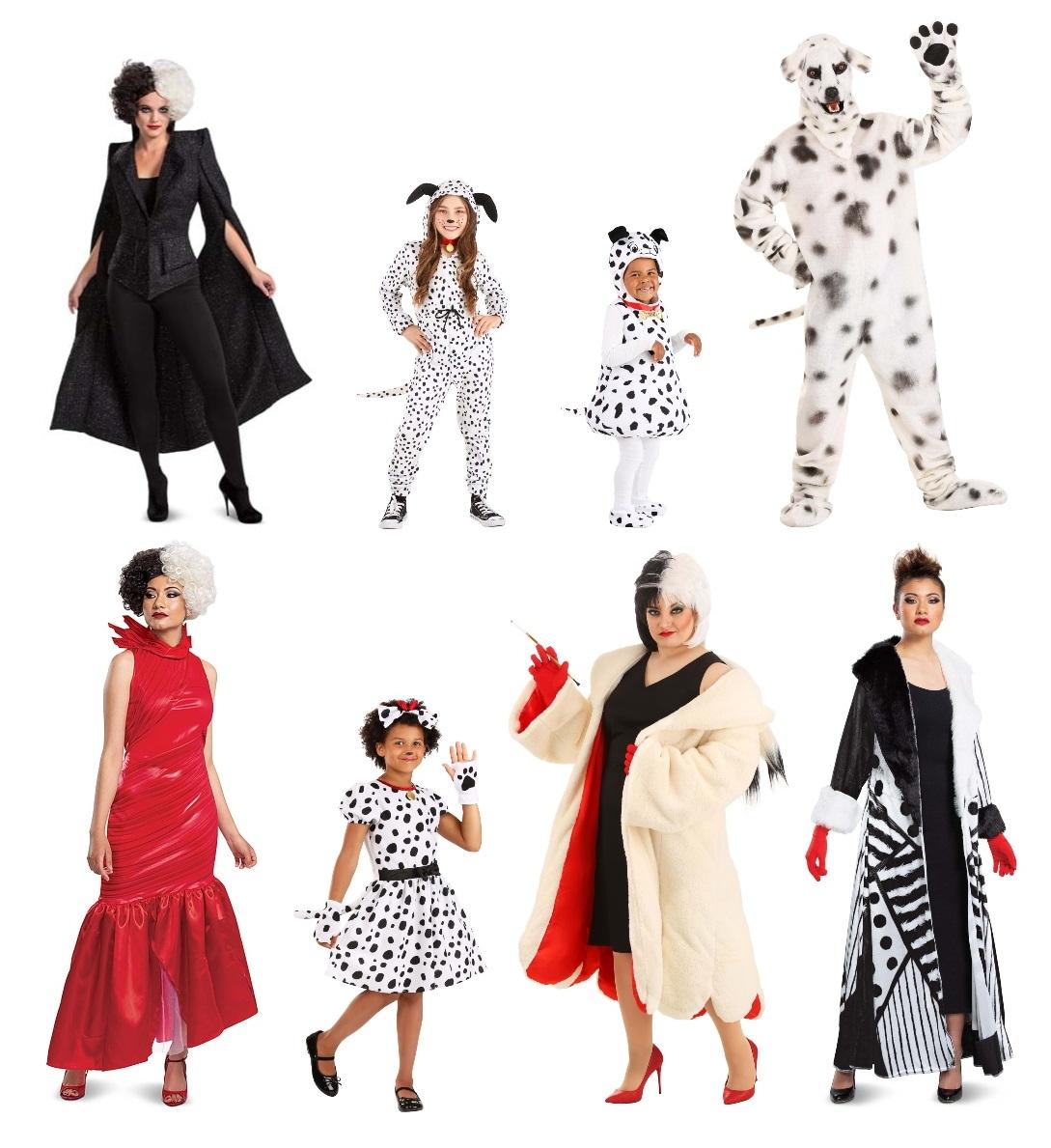Group 101 Dalmatians Costumes