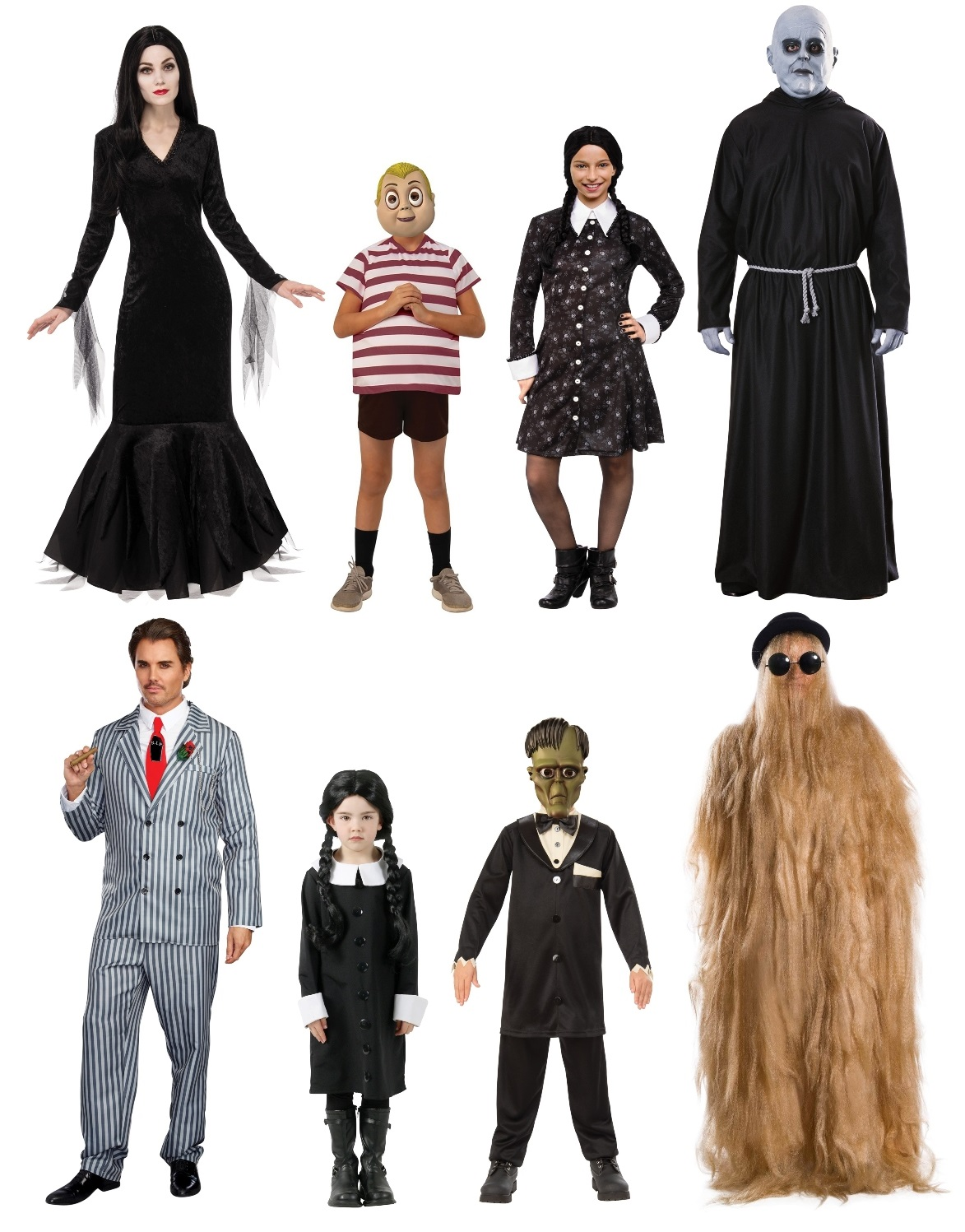 Group Addams Family Costumes
