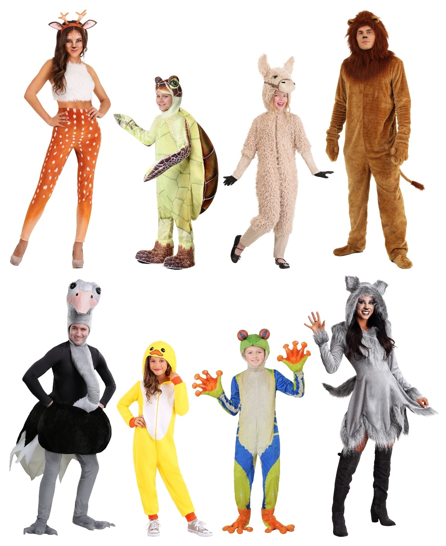 Animal group costumes