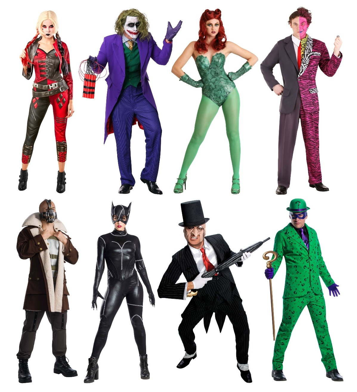 Batman Villain Group Costumes