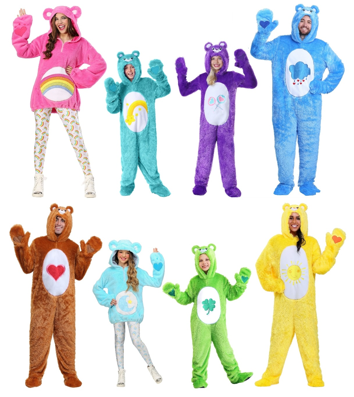 Group Care Bears Costumes