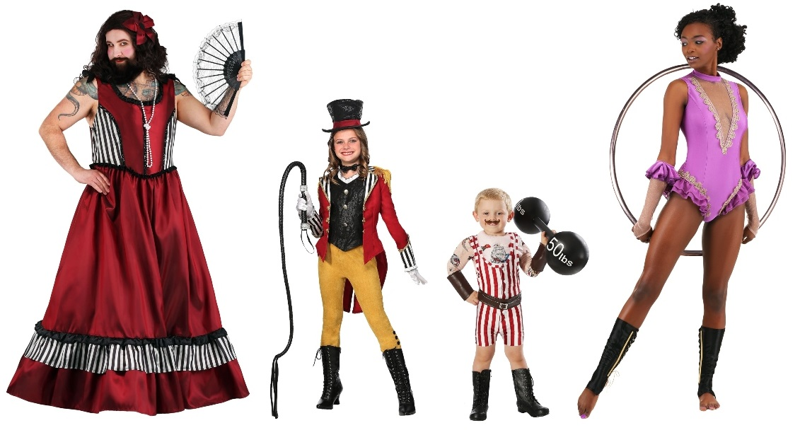 Group Circus Costumes