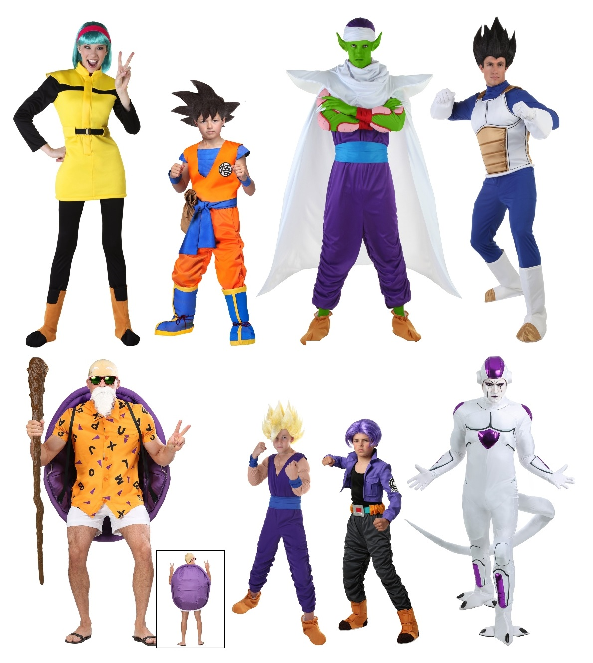 Group Dragon Ball Z Costumes