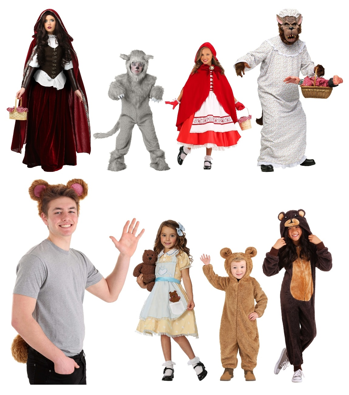 Group Fairy Tale Costumes