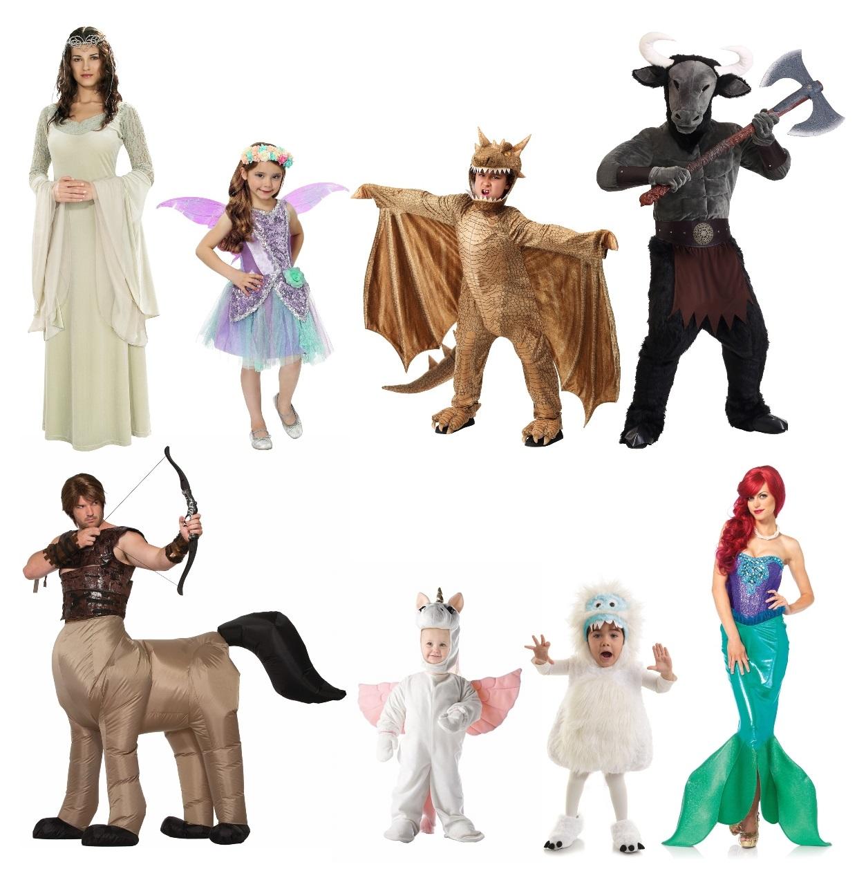 Fantasy Group Halloween Costumes