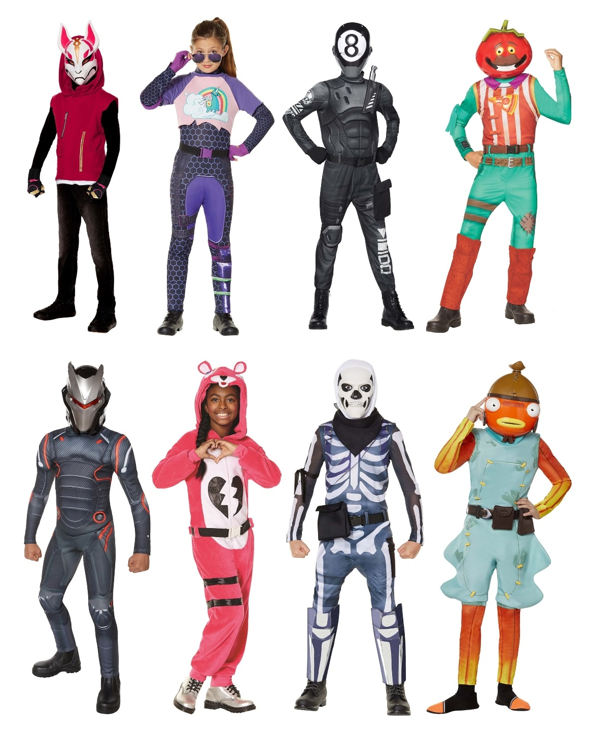 Fortnite Group Halloween Costumes