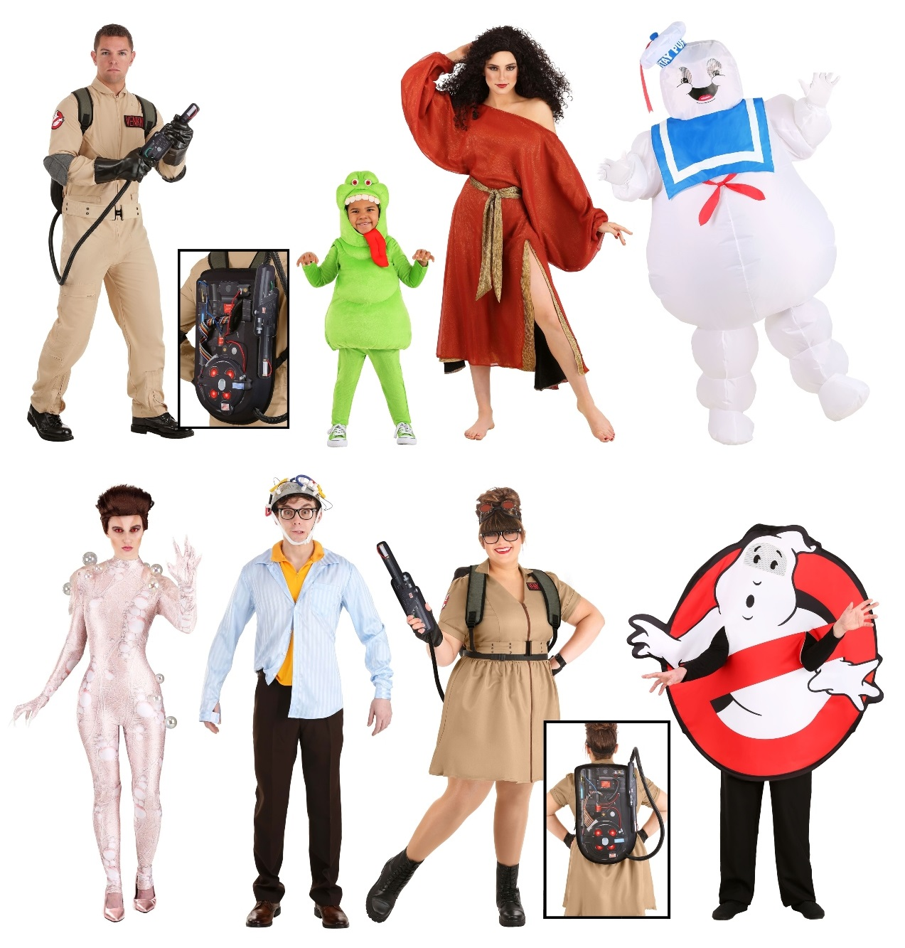 Group Ghostbusters Costumes