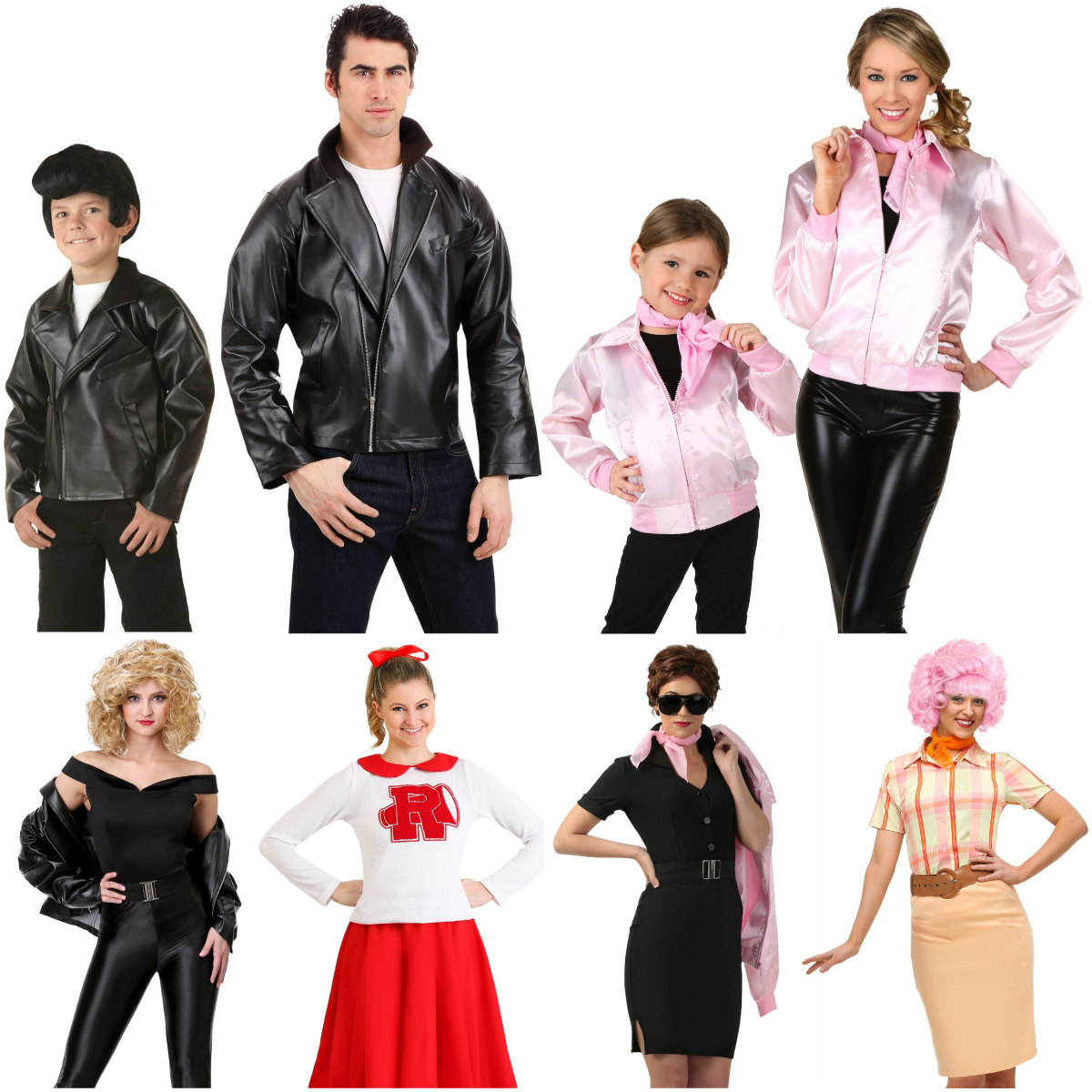 Grease Family Costumes