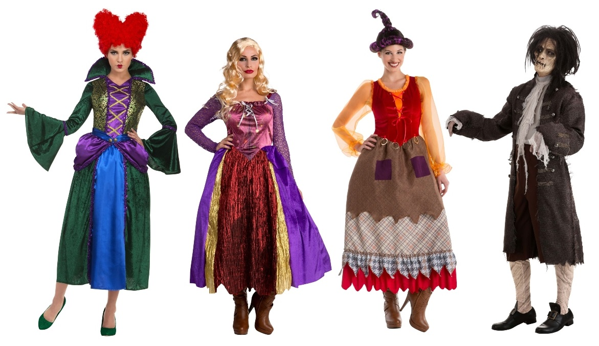Group Hocus Pocus Costumes