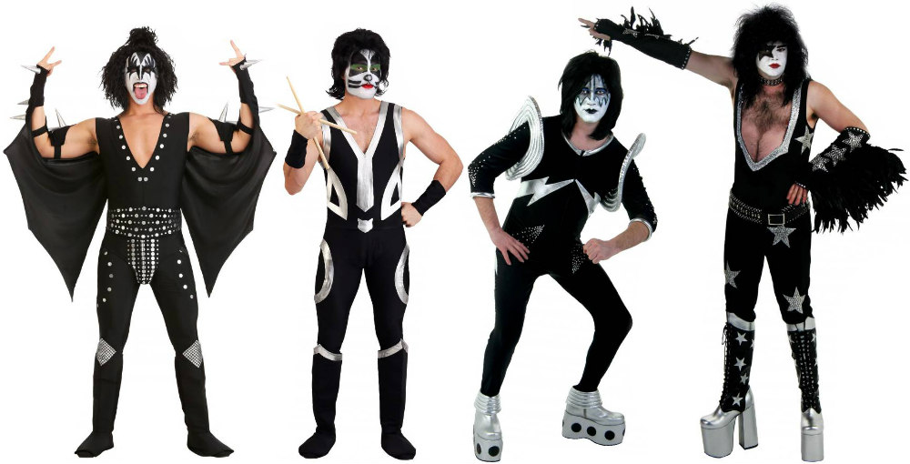 KISS Group Costumes