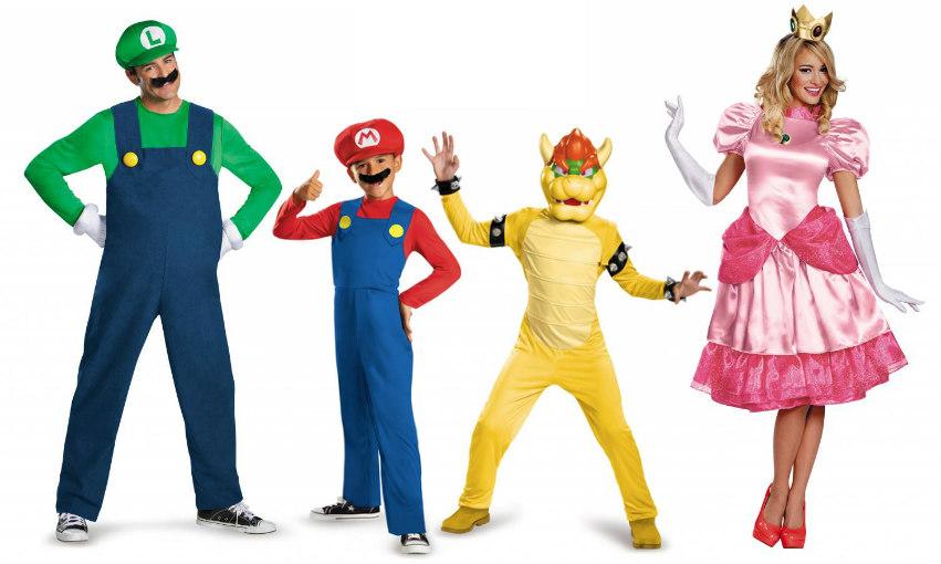 Super Mario Family Costume
