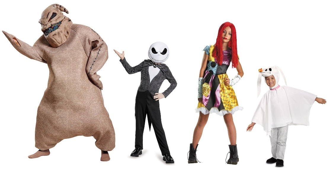Group Nightmare Before Christmas Costumes