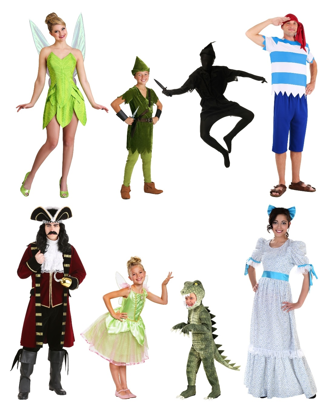 Group Peter Pan Costumes