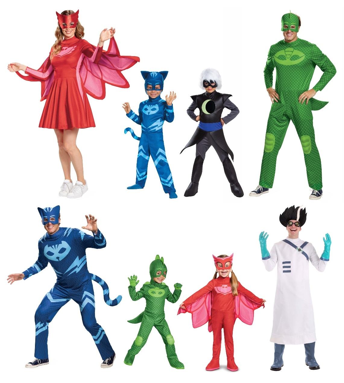 Group PJ Masks Costumes