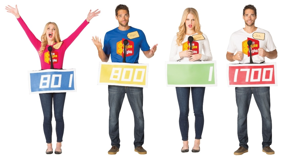Group Price Is Right Costumes