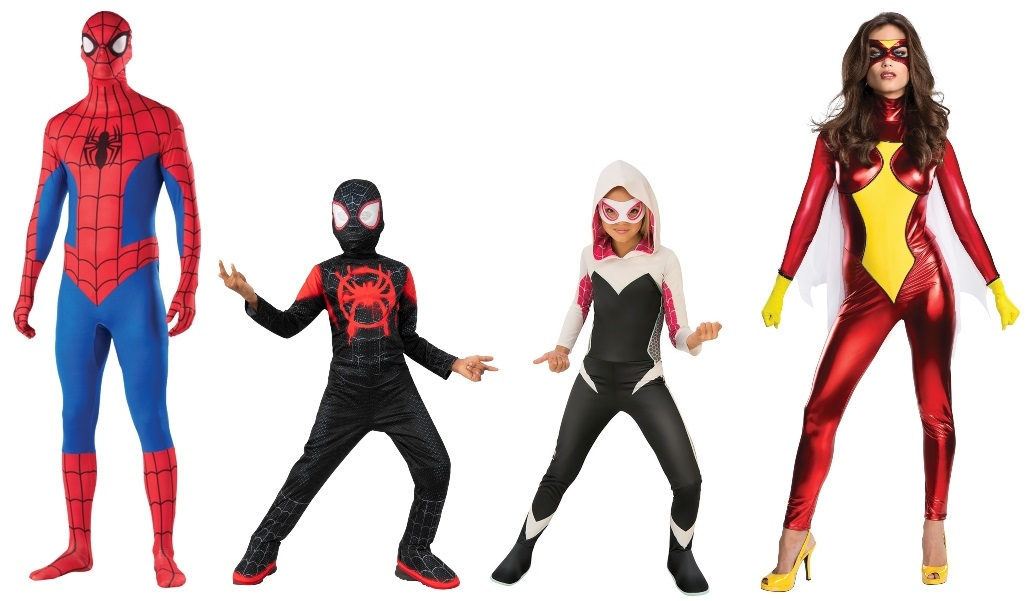Group Spider-Verse Costumes