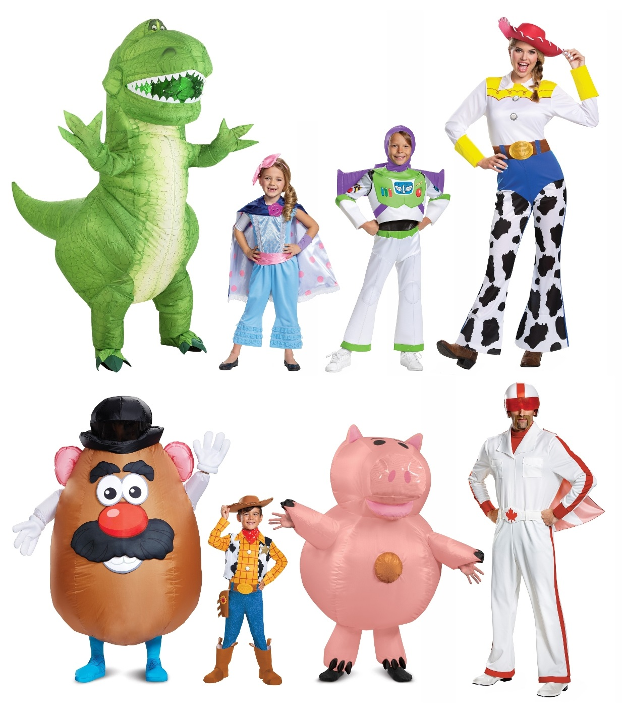 Group Toy Story Costumes