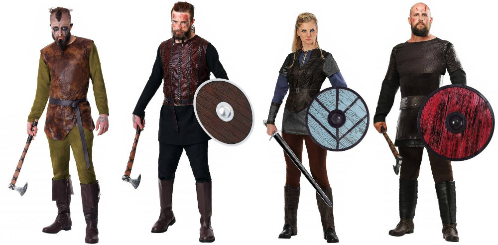 Vikings group costume
