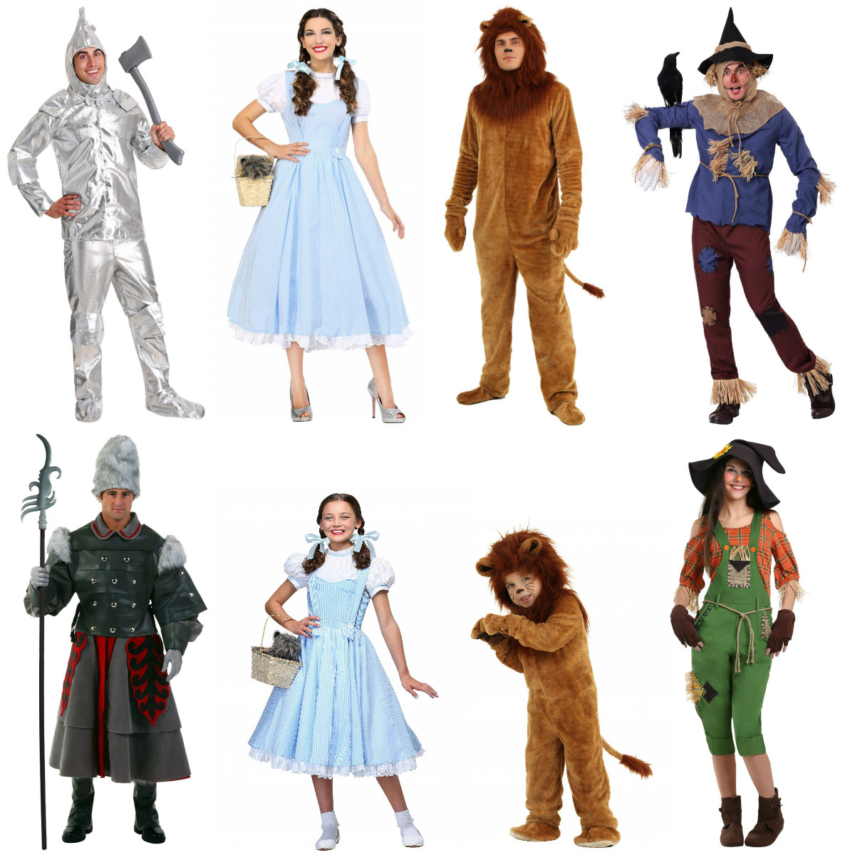 Wizard of Oz group costumes