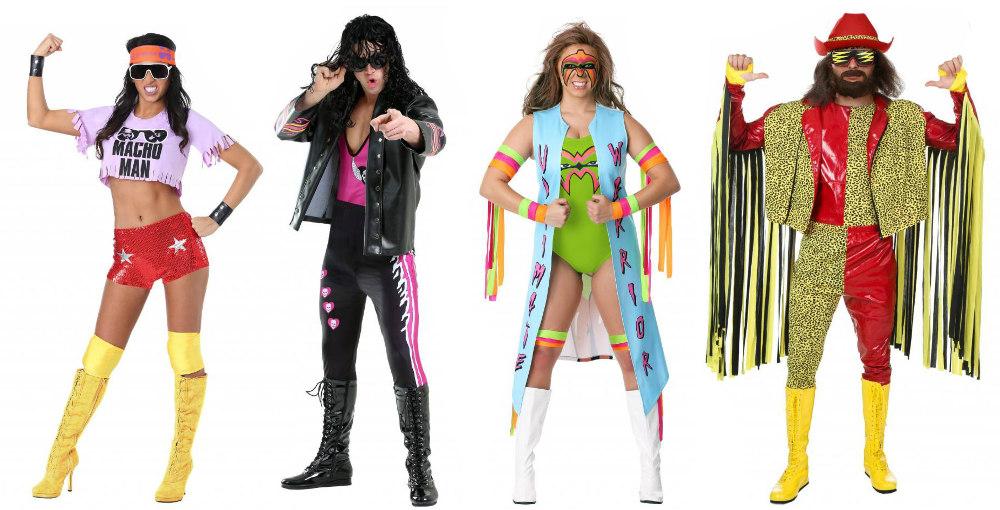 WWE group costume