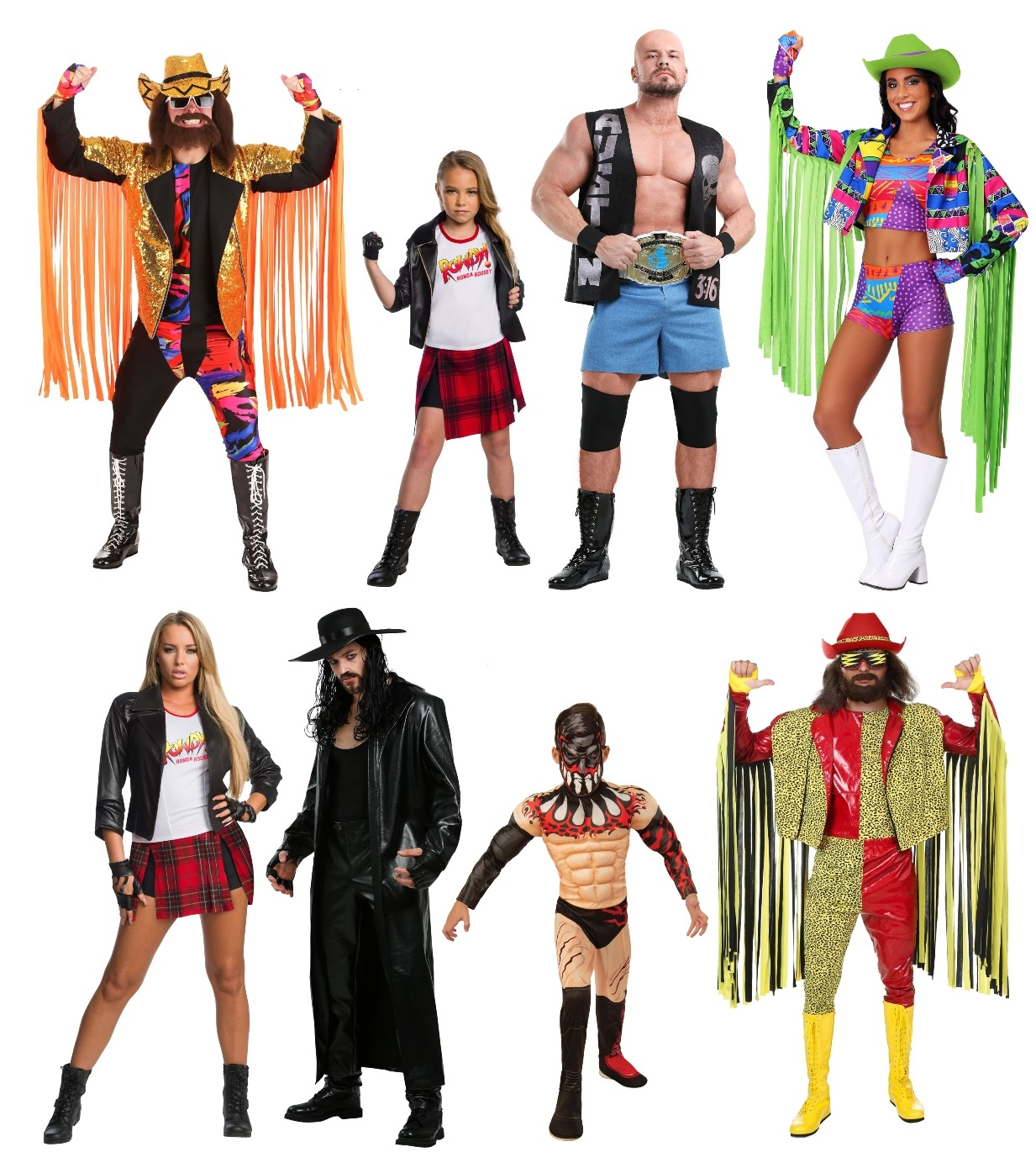 Group WWE Costumes