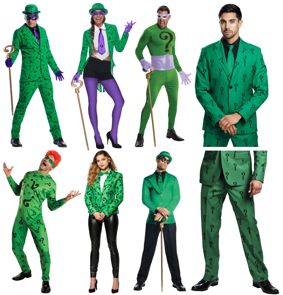 Complete Riddler Costumes