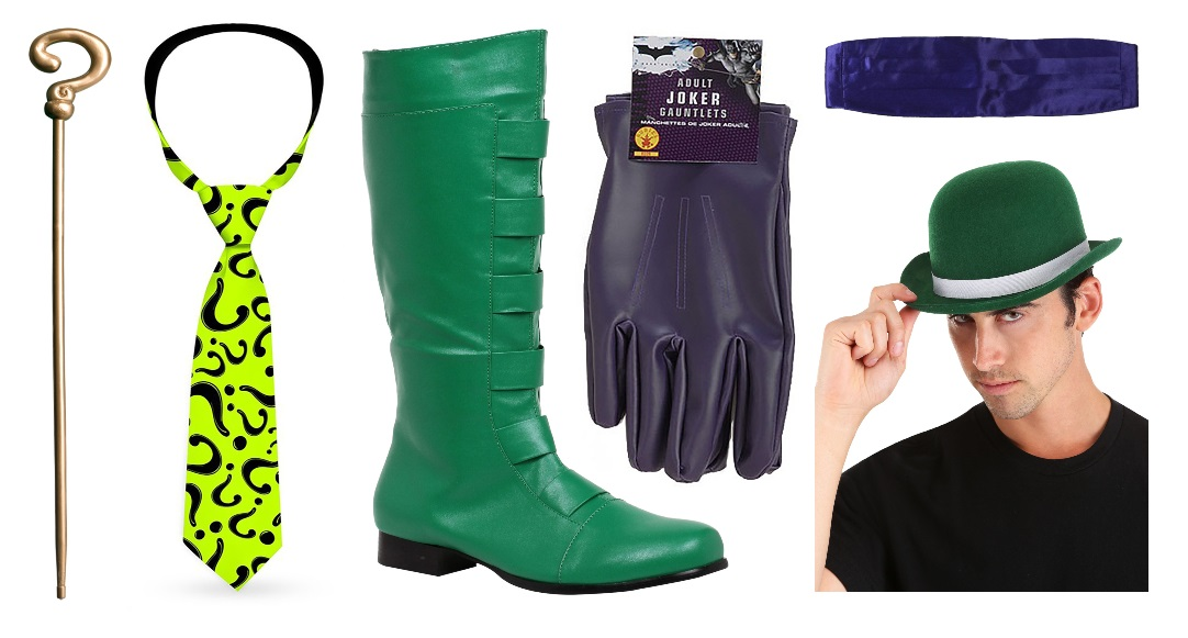 The Riddler Costume Accessories