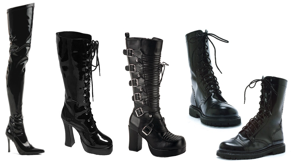 Black Boots for Storm Costumes