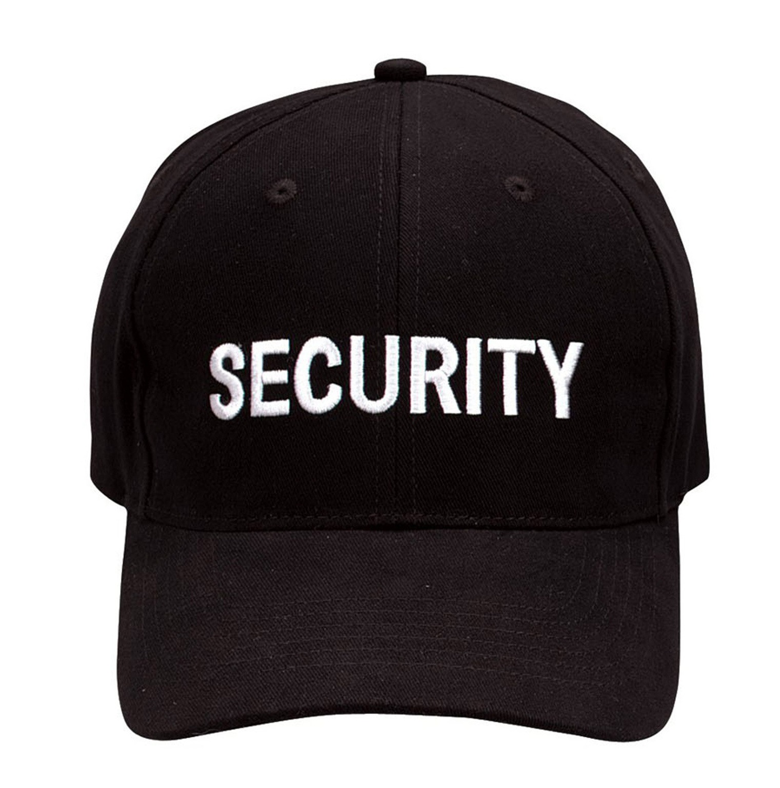 Security Black Baseball Hat