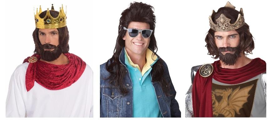 Keystone Keith Stone Wigs