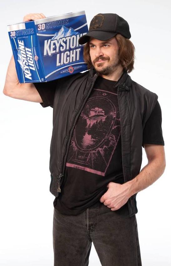 Keystone Light Keith Stone