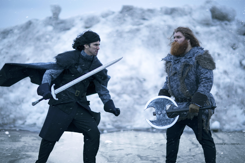 Game of Thrones Tormund and Jon Snow Costumes