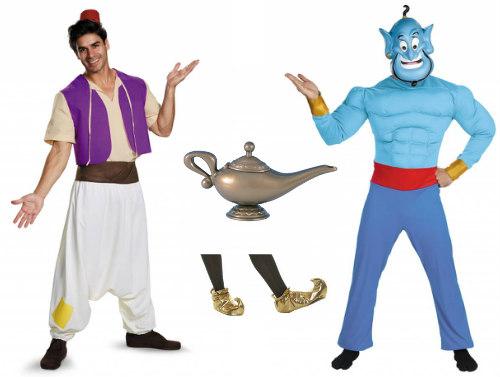 Duo Aladdin and Genie Costumes