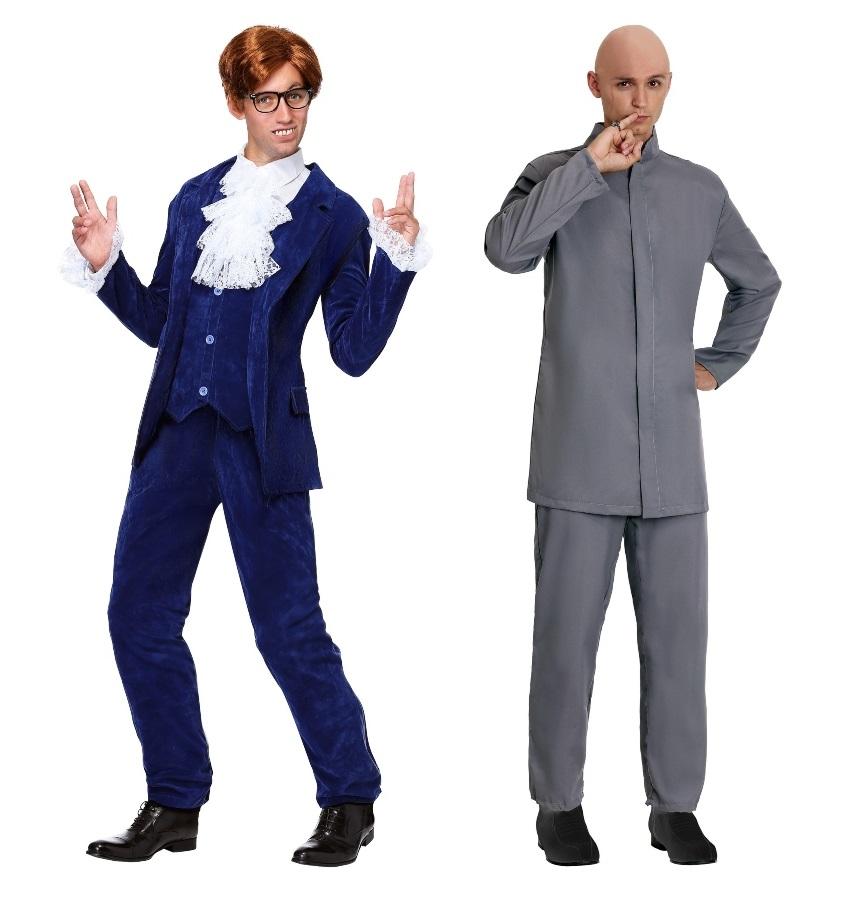 Duo Austin Powers Costumes