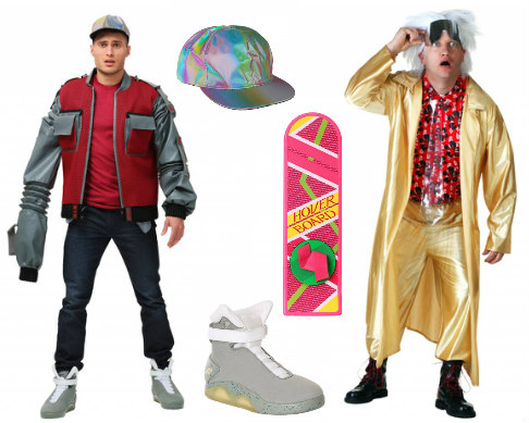 Duo Back to the Future Costumes
