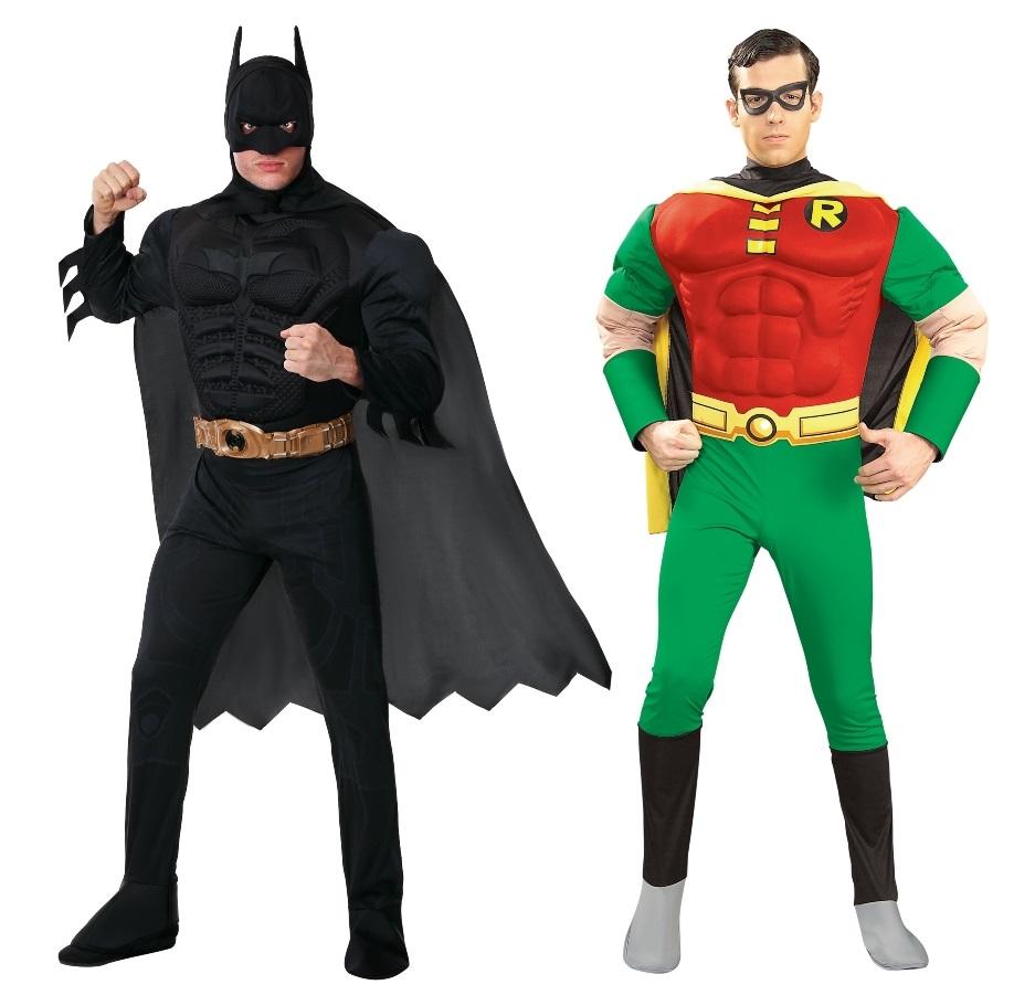 Duo Batman and Robin Costume