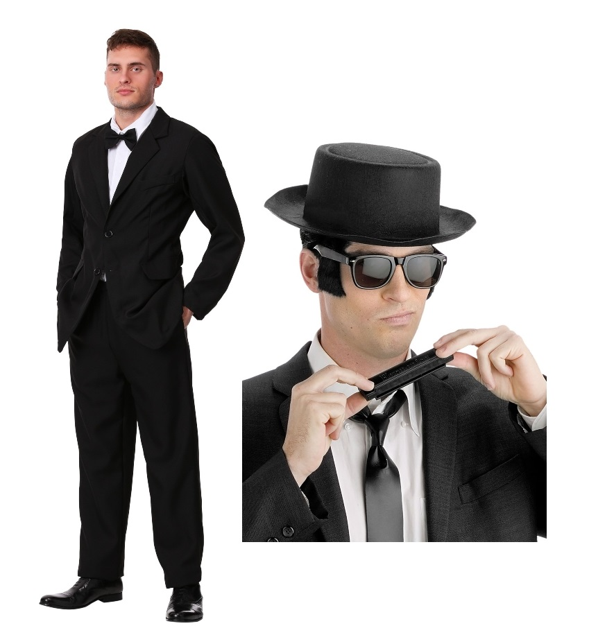 Duo Blues Brothers Costumes