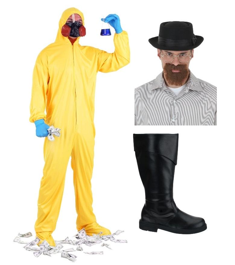 Walter White and Jesse Pinkman Costumes
