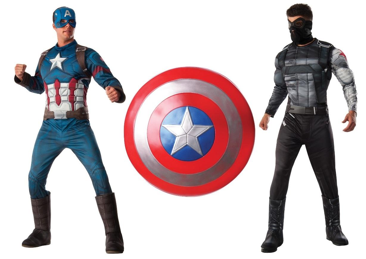 Duo Captain America Costume