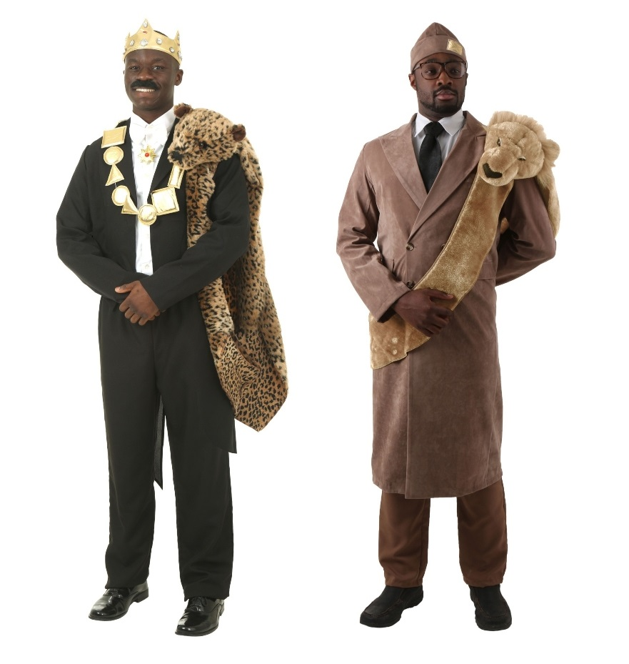 Duo Coming to America Costumes